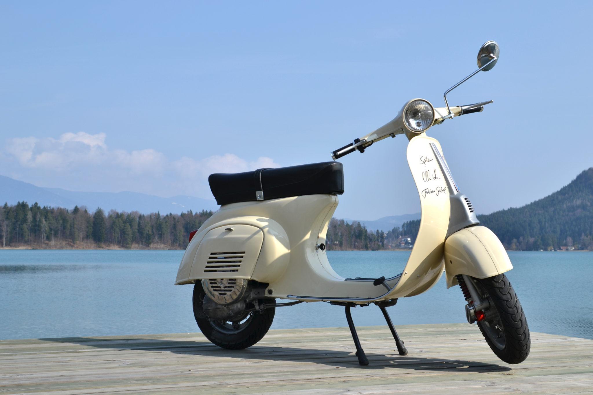 Vespa 50 special mit Primavera Lenker